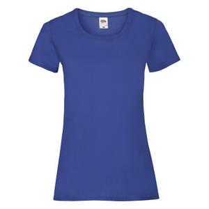Футболка женская ярко-синяя VALUEWEIGHT T