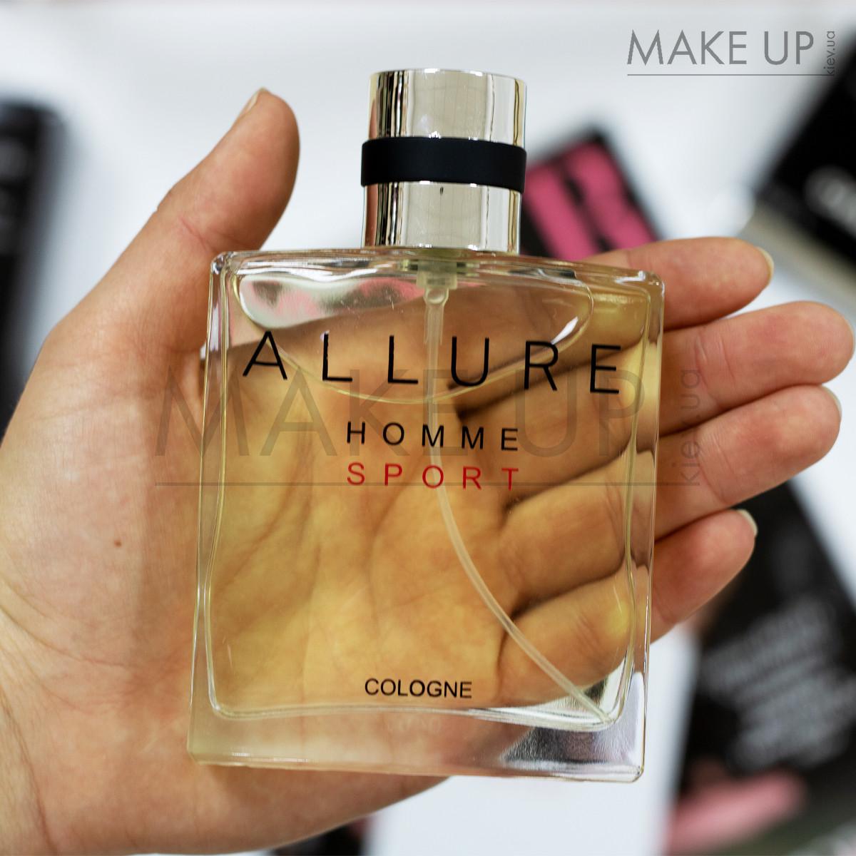 Мужская туалетная вода Chanel Allure Homme Sport Cologne EDT 100 мл. | Лицензия Объединённые  Арабские Эмираты