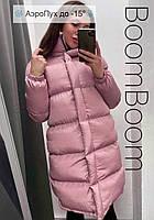 Зимняя куртка женская удлиненная прямая (Норма)