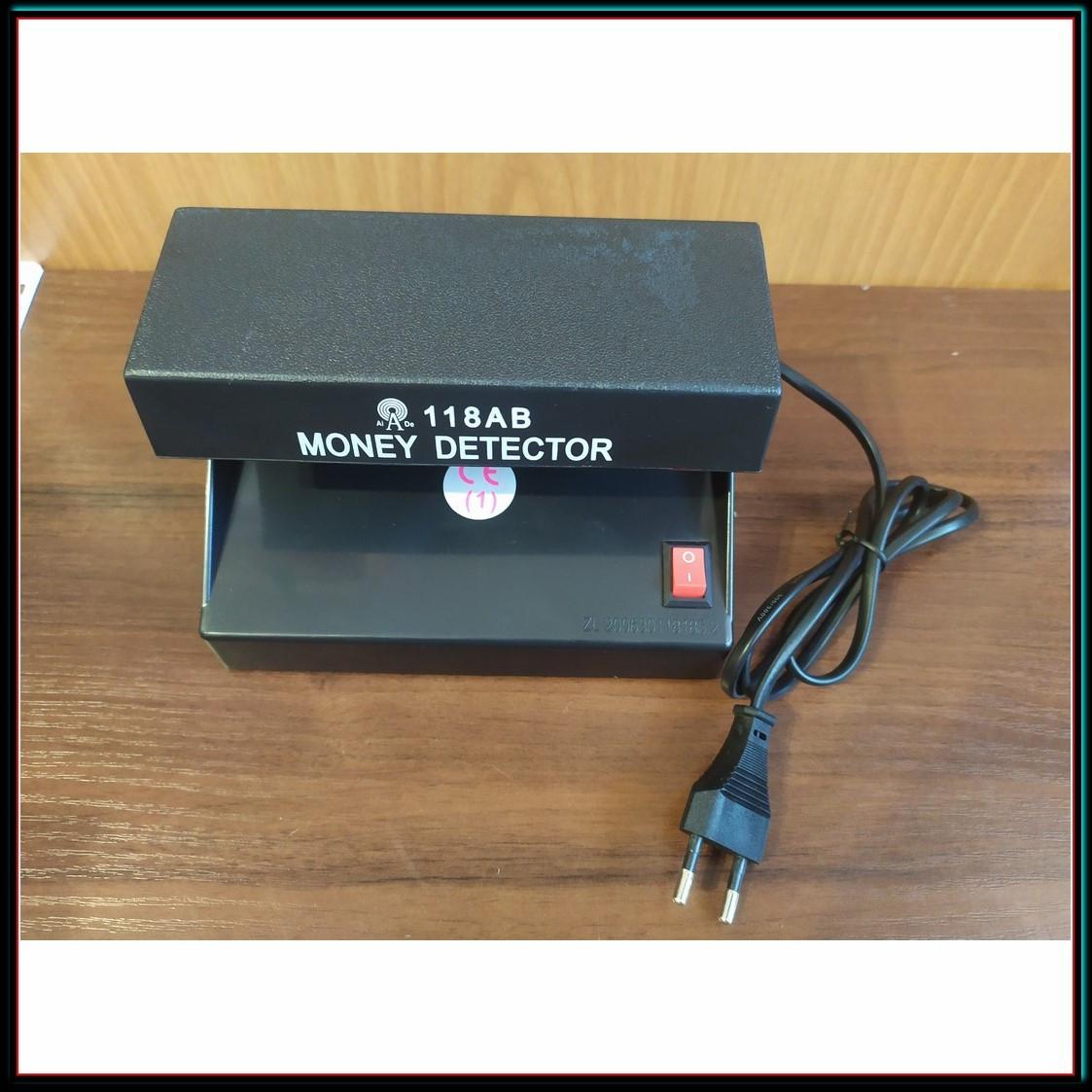 Детектор Валют AD-118AB УФ лампа для проверки денег от сети