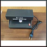 Детектор Валют AD-118AB УФ лампа для проверки денег от сети, фото 1