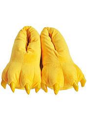 Плюшевые Тапочки Кигуруми Kronos Top Лапы Yellow (frs_115594)