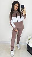 Женский теплый спортивный костюм батник и штаны трехнить на флисе размер: 42-44, 46-48, 50-52, 54-56