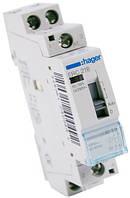 Реле промежуточное Hager ERC218 16A катушка 220V 1NO+1NC