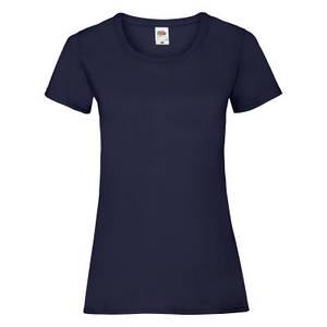 Футболка женская тёмно-синяя VALUEWEIGHT T