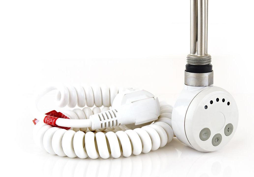 ТЕН Terma MEG 1.0 White 600W з кабелем