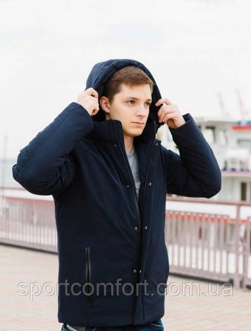 Мужская куртка Freever синяя, красная