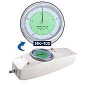 Динамометр аналоговый пружинный универсальный NK-100 (10 кг) (ДА-100, ДУ-100) (0,5 Н / 0,1 кг)