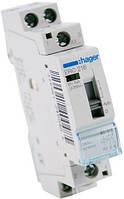 Реле промежуточное Hager ERC216 16A катушка 220V 2NO