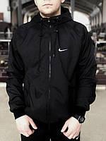 Ветровка мужская Nike Windrunner X Black | куртка мужская весенняя осенняя