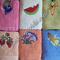 Махровое кухонное полотенце Фрукты, фото 1