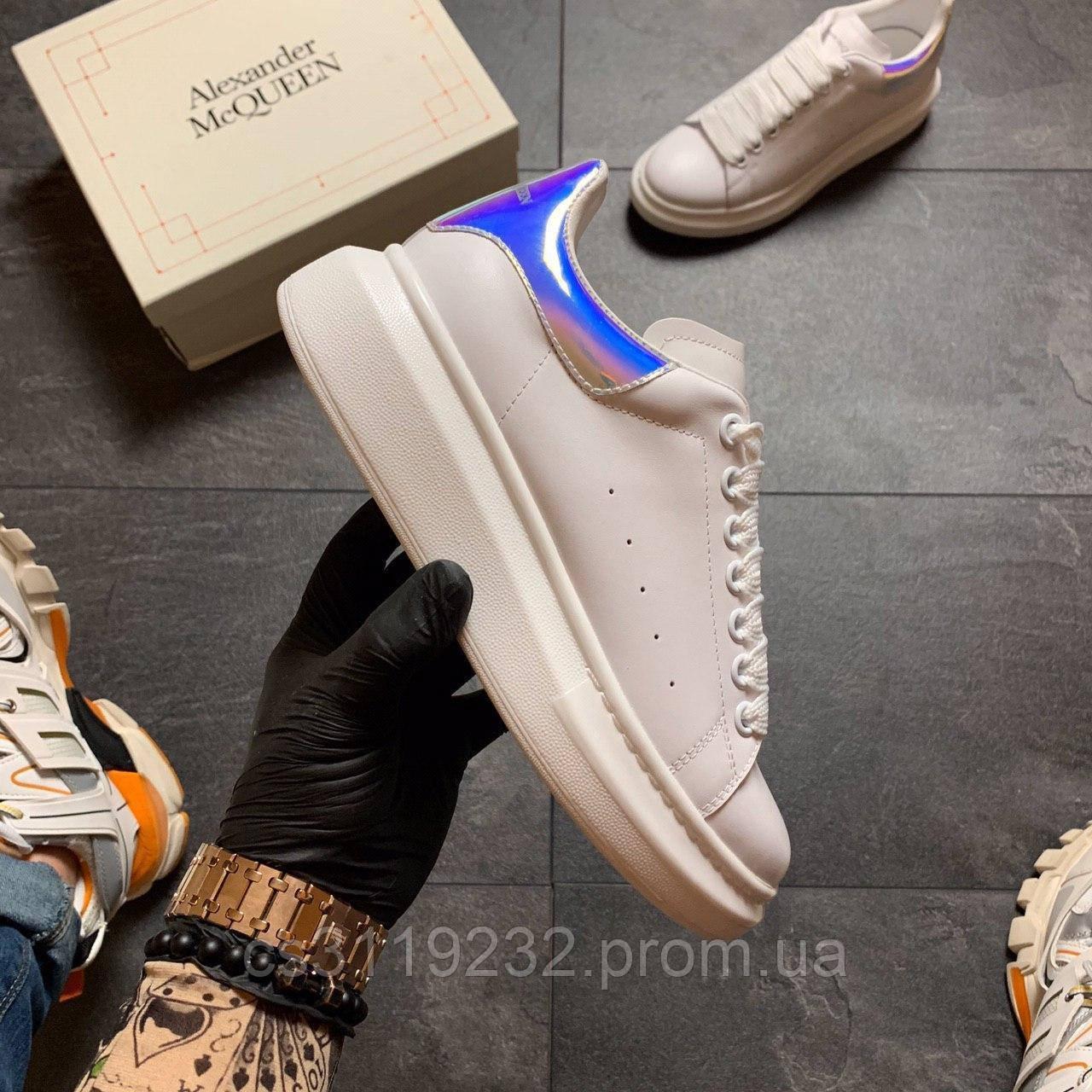 Жіночі кросівки White Blue (білі)