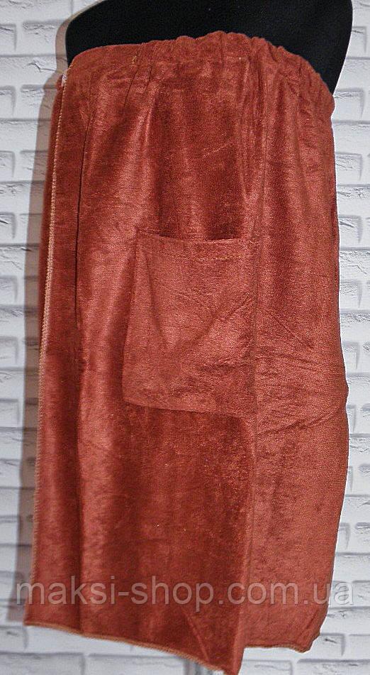 Рушник для сауни плаття спідниця 135х80 (S5025)