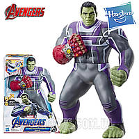 Фигурка Халк 35 см звук свет Мстители: Финал Marvel Avengers: Endgame Power Punch Hulk Hasbro E3313