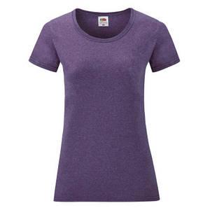 Футболка женская фиолетовая меланж VALUEWEIGHT T