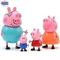 "Фигурки Свинка ""Пеппа"" семейный набор 4 в 1, фото 1"