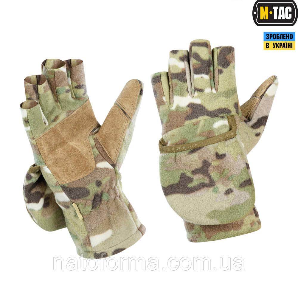 Перчатки беспалые, с клапаном M-Tac Windblock MC 295