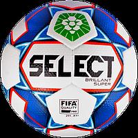 М'яч футбольний SELECT Brillant Super ПФЛ Артикул: 361590*, фото 1