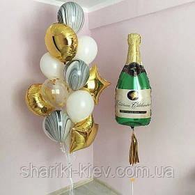 """Набор шаров """"Брызги шампанского"""""""