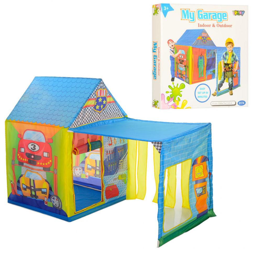 Детская палатка M 5685 Bambi домик-гараж