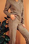 Жіночий оригінальний якісний костюм у різних кольорах (якість преміум), фото 6