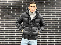 Куртка мужская зимняя темно-серая