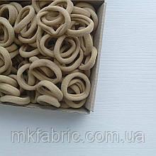 Резинка для хвостиков 3 см, ТЕЛЕСНЫЙ