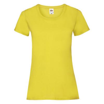 Футболка жіноча жовта VALUEWEIGHT T