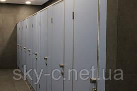 Сантехнические перегородки в туалет