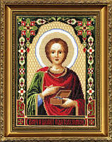 """Набор для вышивки крестиком Чарівна Мить 336 """"Икона Великомученика Пантелеймона"""""""