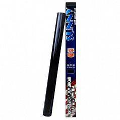 Пленка тонировочная SUNNY USA0530SDB USA 0.5x3m Super Dark Black 5%