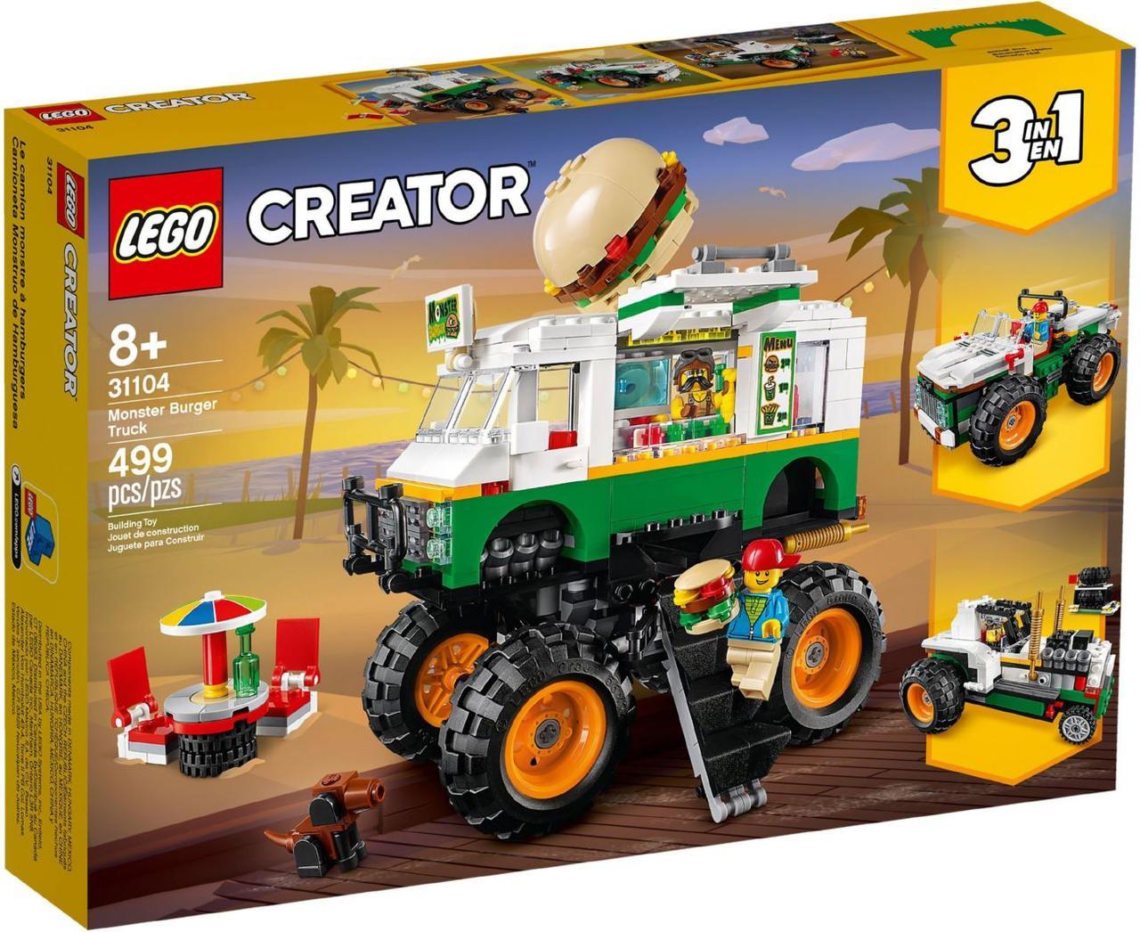 Lego Creator Вантажівка «Монстрбургер» 31104