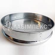 Сито лабораторное металлопробивное СЛ-200, обечайка 70 мм, круглая ячейка (Тип 1), фото 2
