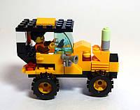 """Конструктор """"Желтый автомобиль"""" / 57 шт/ Товар с витрины, фото 1"""
