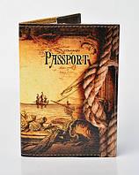 Обложка на паспорт Корабль