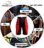 SALE Шорти для схуднення PowerPlay 4304 Червоно-Чорні L/XL, фото 6