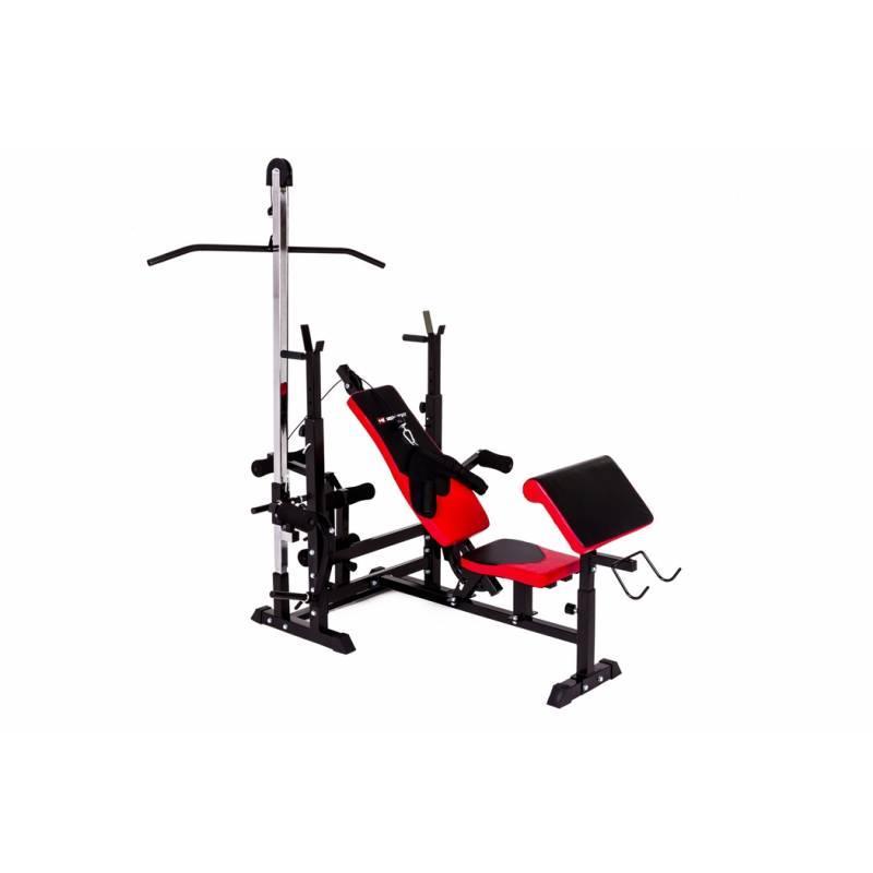 Набор Elitum TITAN 48 кг штанга + HS-1075 + пульт (парта) + тяга