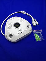 Панорамно-потолочная IP Камера V300 для видеонаблюдения, фото 1