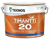 Фарба спеціальна акрилатна для стін та стелі Timantti 20 Teknos (Фінляндія) 9л