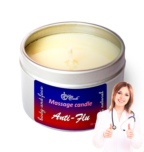 Масажна свічка Live Candle Anti-Flu (Антигрип) міні 50 мл