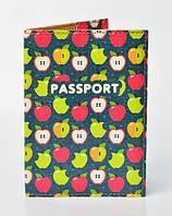 Обложка на паспорт Яблоки