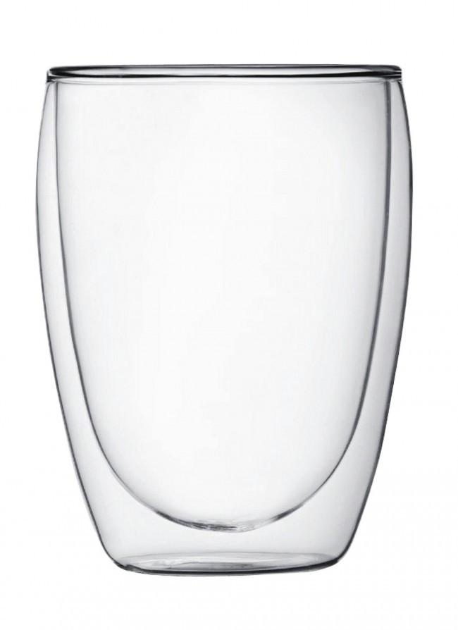 Стакан стеклянный с двойными стенками 300мл