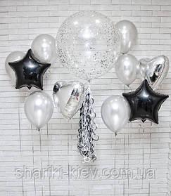Набор гелиевых шаров на праздник