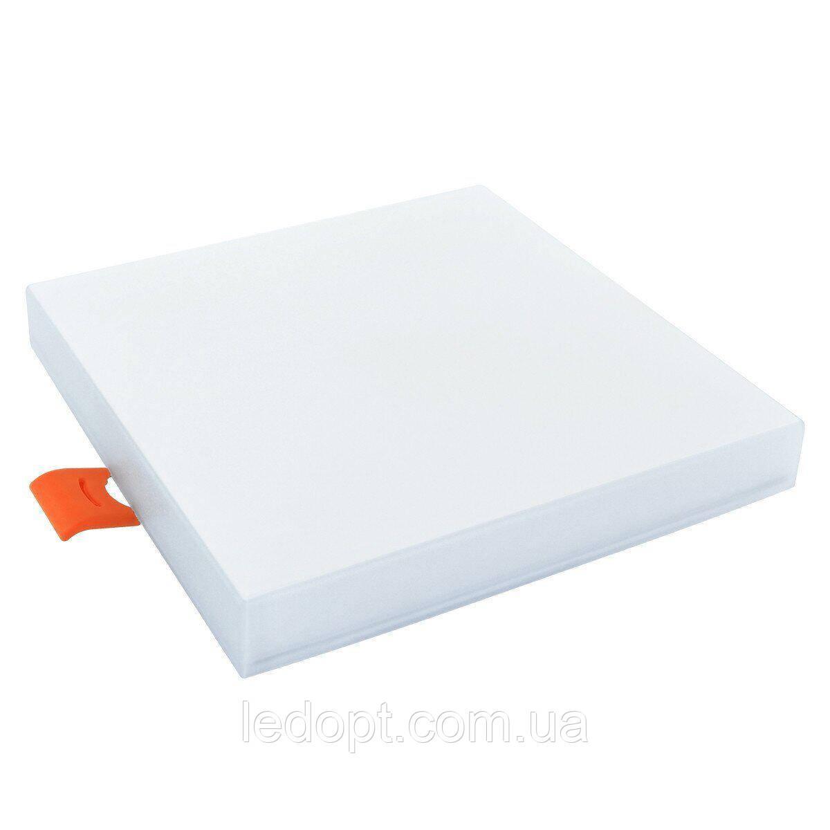 Світильник світлодіодний Biom UNI-S12W-5 12Вт квадрат 5000К