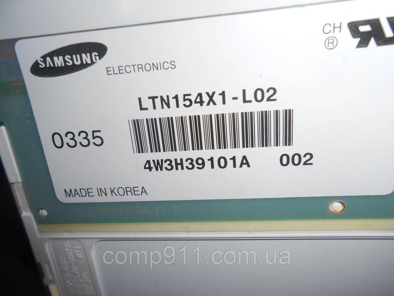 Матриця для ноутбука Samsung LTN154X1-L02