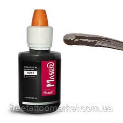 Пигмент для татуажа Maser Black brown 9937 (10мл)