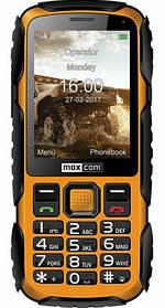Телефон Maxcom MM920 Black-Yellow Гарантія 12 місяців