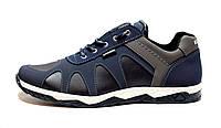 Кросівки туфлі кеди чоловічі стильні сині