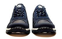 Кроссовки мужские стильные синего цвета, фото 2