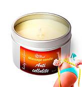 Массажная свеча Live Candle Anti-Cellulite (Антицеллюлитная) мини 50 мл